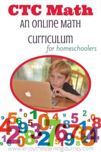 CTC Math: An Online Math Curriculum for Homeschoolers