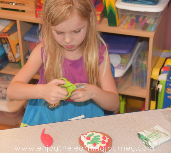 A Five in a Row {FIAR} homeschool unit with a lot of pizzazz! Little Nino's Pizzeria we so fun as we read together, completed activities and of course, made some pizza!