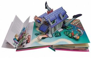Alice pop-up book