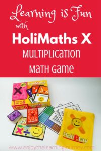 Learning is Fun with the HoliMaths X Multiplication Math Game