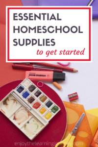 Wondering what supplies you need in order to homeschool? Find out what homeschool supplies are essential for getting started.