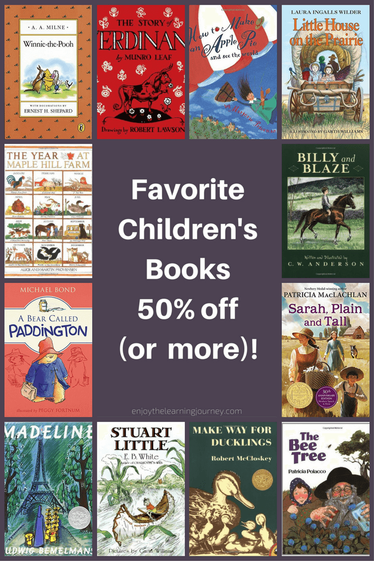 Favorite Children's Books 50% off