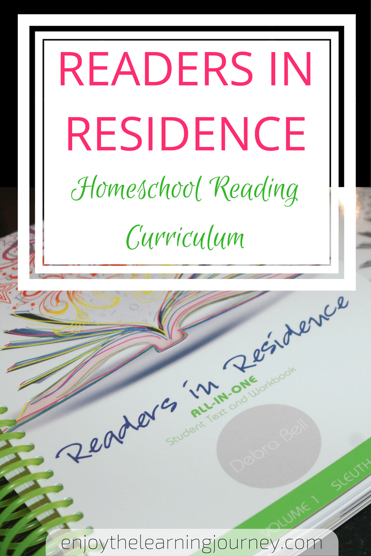Readers in Residence Homeschool Reading Curriculum