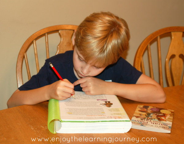 Apologia's Readers in Residence is a wonderful homeschool reading curriculum that's recommended for children in grades 4th through 8th grade.