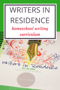 Writers in Residence Homeschool Writing Curriculum