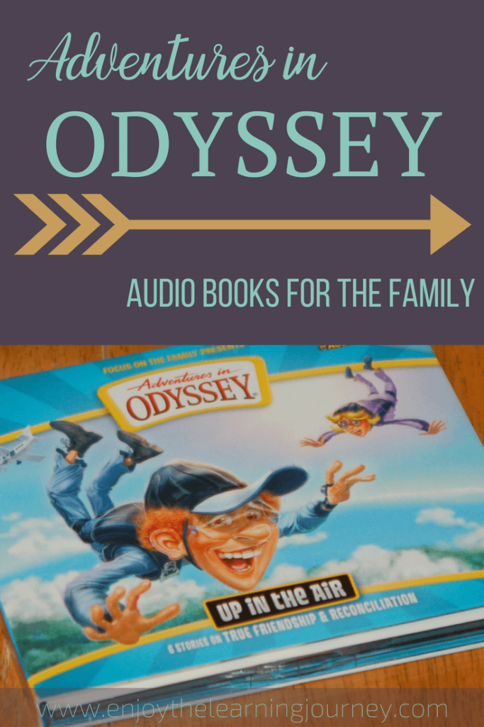 Are you looking for family audiobooks? Check out the CD Adventures in Odyssey Up in the Air for character-building entertainment for the whole family.
