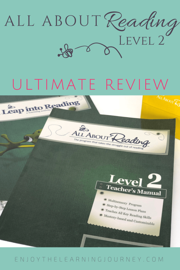 Wondering if All About Reading Level 2 is the best reading curriculum for your family? Check out this Ultimate Review to find out!