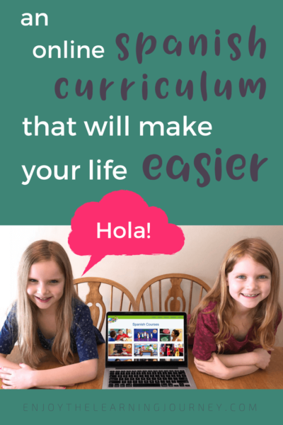 An Online Spanish Curriculum That Will Make Your Life Easier